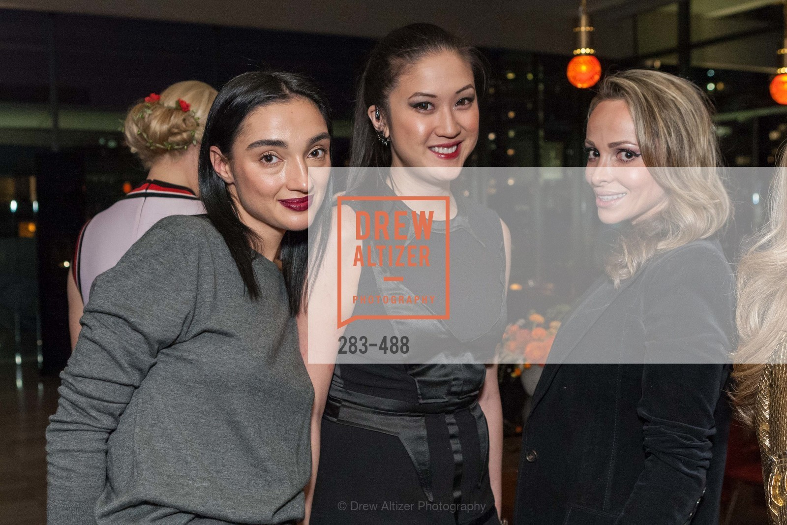 Olga Dubrovsky, Jessica Hon, Nonna Bolsson, SONYA MOLODETSKAYA's Birthday Party, US. The Battery Penthouse, April 1st, 2014,Drew Altizer, Drew Altizer Photography, full-service agency, private events, San Francisco photographer, photographer california