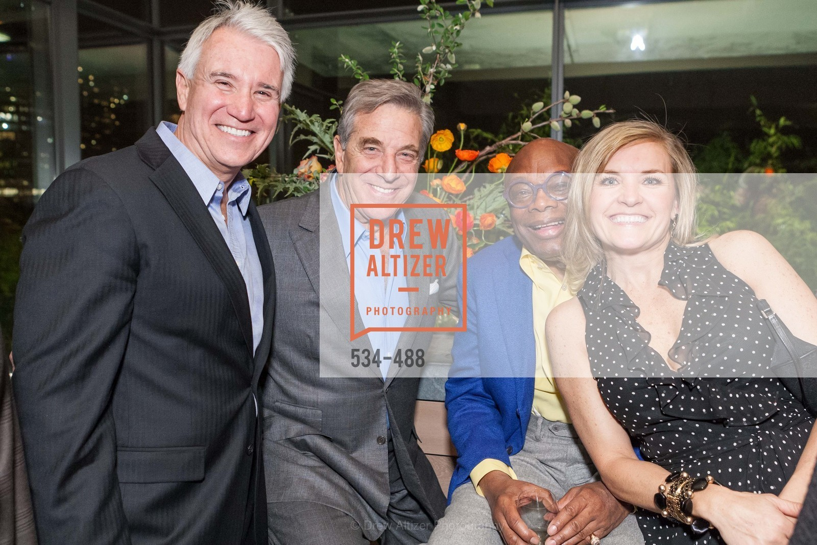 Geoerge Gascon, Paul Pelosi, Willie Brown, Fabiola Gascon, SONYA MOLODETSKAYA's Birthday Party, US. The Battery Penthouse, April 1st, 2014,Drew Altizer, Drew Altizer Photography, full-service agency, private events, San Francisco photographer, photographer california