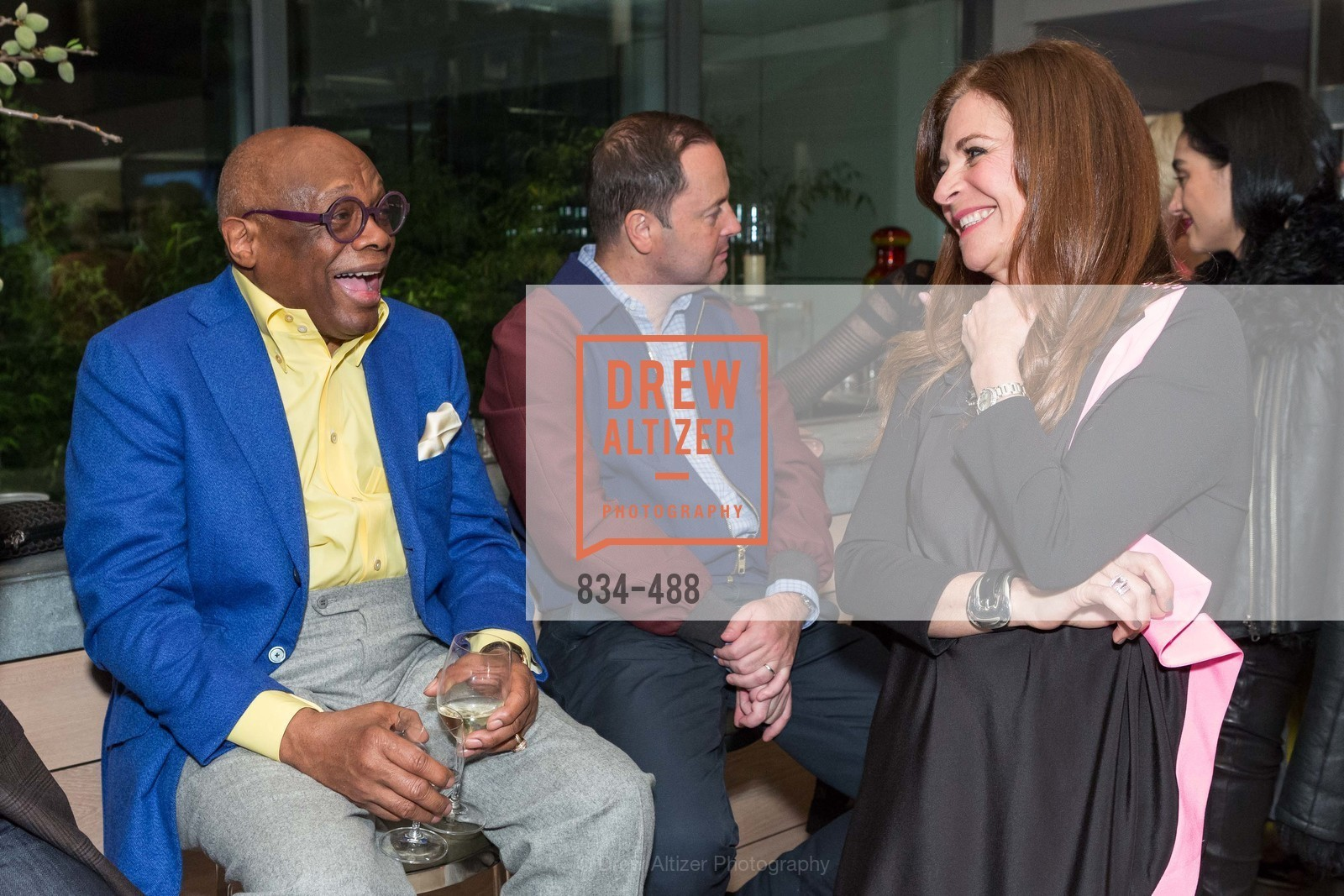 Willie Brown, Farah Makras, SONYA MOLODETSKAYA's Birthday Party, US. The Battery Penthouse, April 1st, 2014,Drew Altizer, Drew Altizer Photography, full-service agency, private events, San Francisco photographer, photographer california