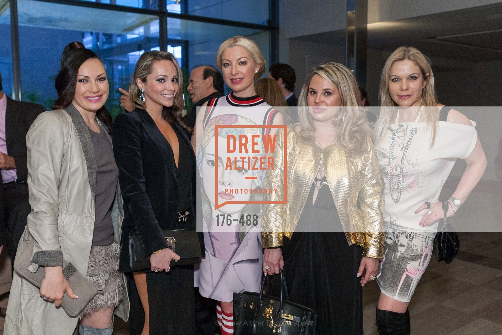 Anna Gemma, Nonna Bolsson, Sonya Molodetskaya, Rada Katz, Tatiana Takaeva, SONYA MOLODETSKAYA's Birthday Party, US. The Battery Penthouse, April 1st, 2014,Drew Altizer, Drew Altizer Photography, full-service agency, private events, San Francisco photographer, photographer california
