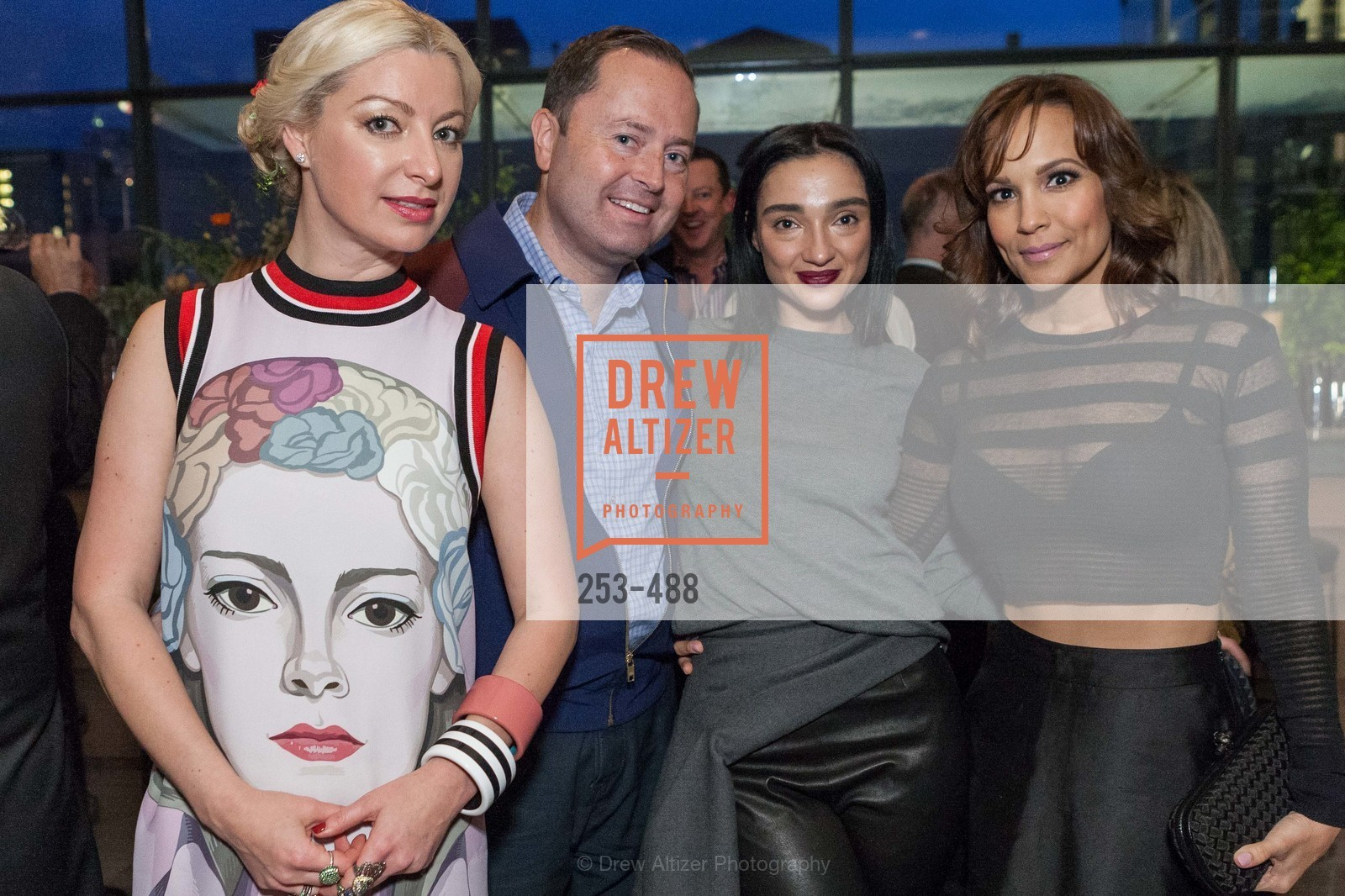 Sonya Molodetskaya, Edward Dubrovsky, Olga Dubrovsky, Lora DuBain, SONYA MOLODETSKAYA's Birthday Party, US. The Battery Penthouse, April 1st, 2014,Drew Altizer, Drew Altizer Photography, full-service agency, private events, San Francisco photographer, photographer california