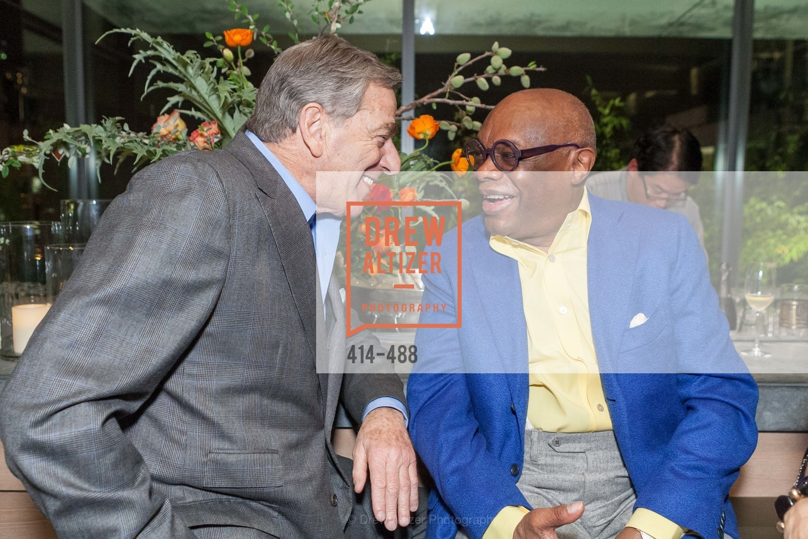 Paul Pelosi, Willie Brown, SONYA MOLODETSKAYA's Birthday Party, US. The Battery Penthouse, April 1st, 2014,Drew Altizer, Drew Altizer Photography, full-service agency, private events, San Francisco photographer, photographer california