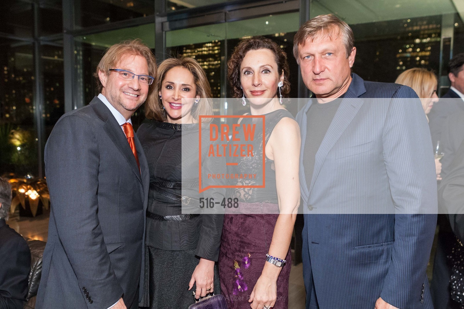 Andres Roemer, Brenda Zarate, Clara Shayevich, Serge Sharapov, SONYA MOLODETSKAYA's Birthday Party, US. The Battery Penthouse, April 1st, 2014,Drew Altizer, Drew Altizer Photography, full-service agency, private events, San Francisco photographer, photographer california