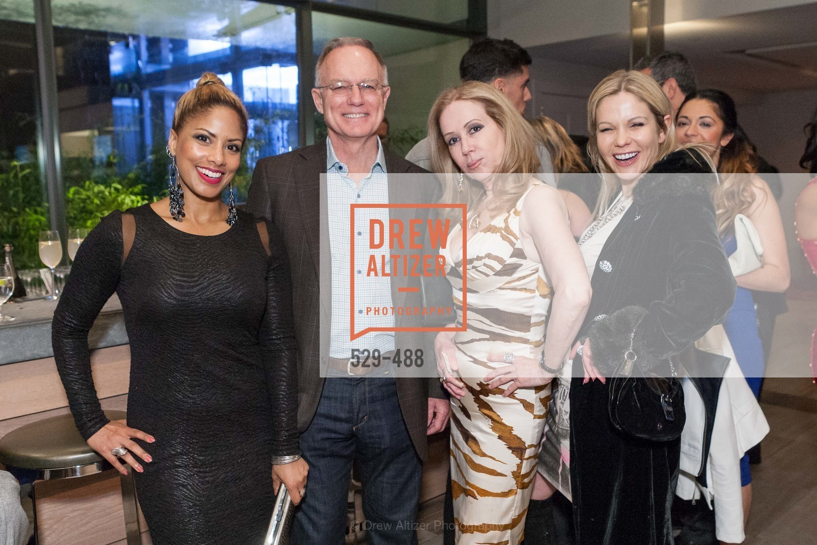Don DuBain, Sophie Azouaou, Tatiana Takaeva, SONYA MOLODETSKAYA's Birthday Party, US. The Battery Penthouse, April 1st, 2014,Drew Altizer, Drew Altizer Photography, full-service agency, private events, San Francisco photographer, photographer california