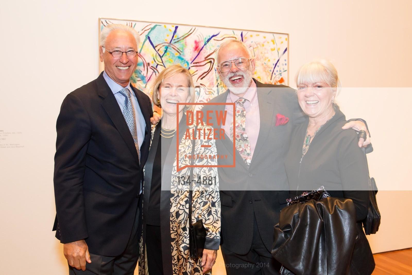 Alan Davis, Peggy Greenfield, Richard Greenfield, Mary Lou Dauray, Photo #134-4881