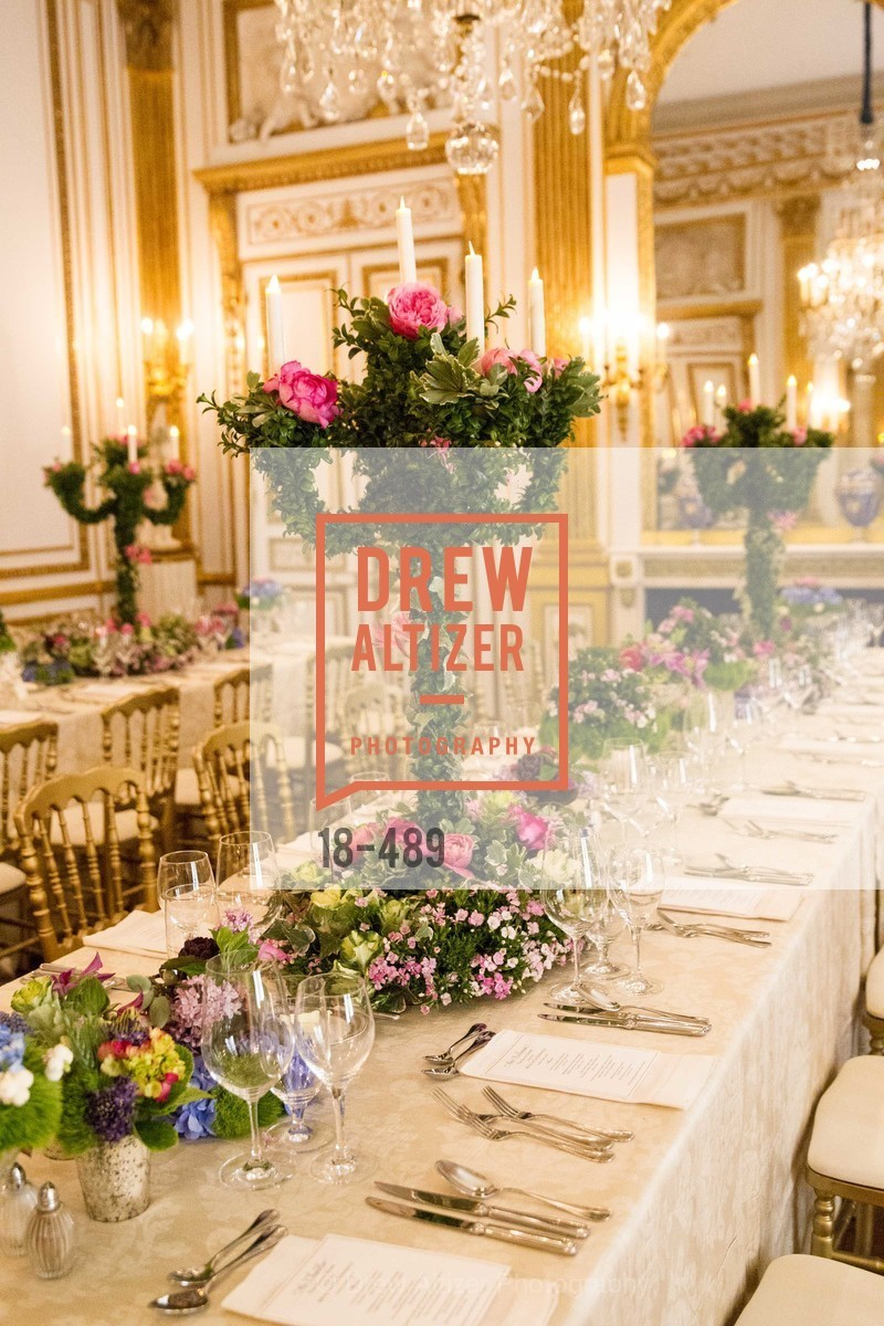 Atmosphere, The Salon Doré from the Hôtel de La Trémoille Private Dinner, US. The Battery, April 1st, 2014,Drew Altizer, Drew Altizer Photography, full-service agency, private events, San Francisco photographer, photographer california