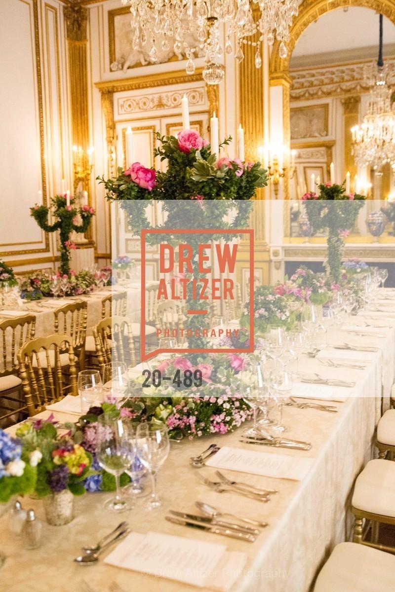 Atmosphere, The Salon Doré from the Hôtel de La Trémoille Private Dinner, US. The Battery, April 1st, 2014