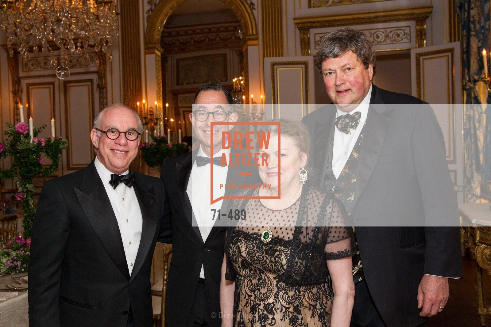 Andrew Skurman, Colin Bailey, Cynthia Gunn, John Gunn, The Salon Doré from the Hôtel de La Trémoille Private Dinner, US. The Battery, April 1st, 2014,Drew Altizer, Drew Altizer Photography, full-service agency, private events, San Francisco photographer, photographer california