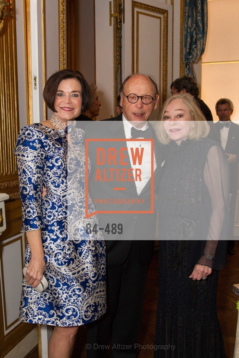 Lucy Buchanan, Bernard Osher, Gretchen Kimball, The Salon Doré from the Hôtel de La Trémoille Private Dinner, US. The Battery, April 1st, 2014,Drew Altizer, Drew Altizer Photography, full-service agency, private events, San Francisco photographer, photographer california