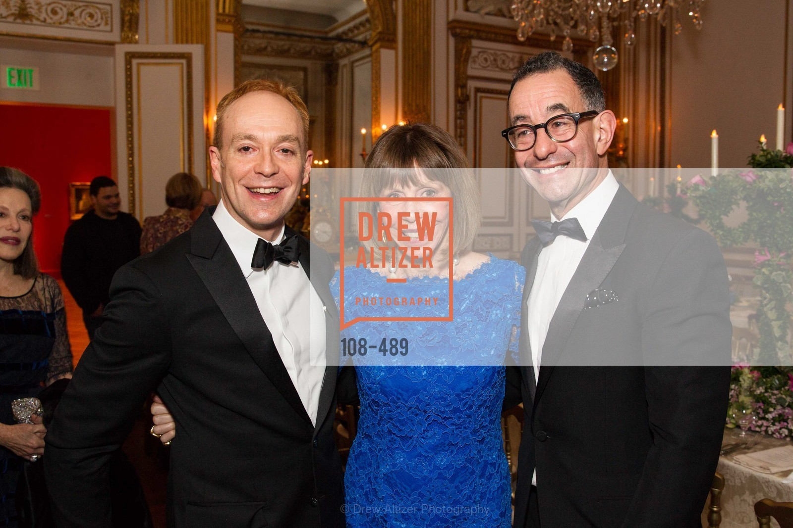 Alan Wintermute, Beatrice Bowles, Colin Bailey, The Salon Doré from the Hôtel de La Trémoille Private Dinner, US. The Battery, April 1st, 2014,Drew Altizer, Drew Altizer Photography, full-service agency, private events, San Francisco photographer, photographer california