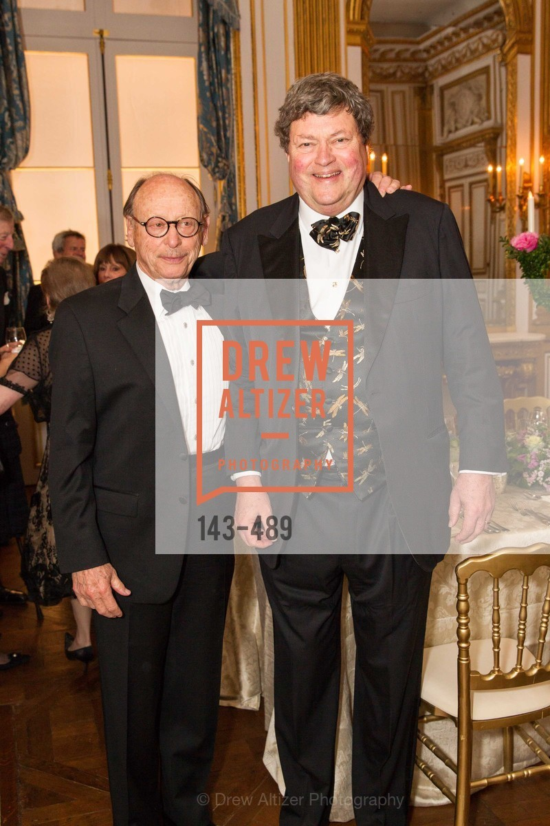 Bernard Osher, John Gunn, The Salon Doré from the Hôtel de La Trémoille Private Dinner, US. The Battery, April 1st, 2014,Drew Altizer, Drew Altizer Photography, full-service agency, private events, San Francisco photographer, photographer california