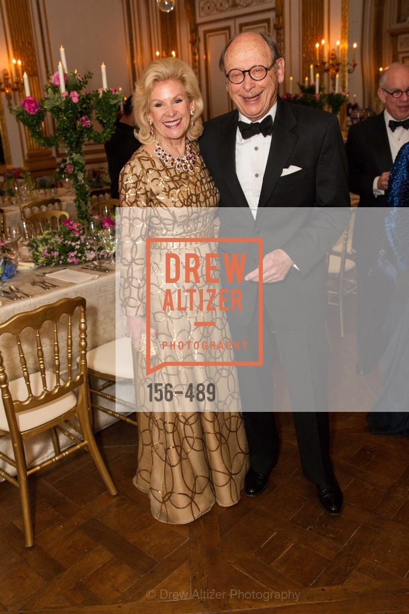 Dede Wilsey, Bernard Osher, The Salon Doré from the Hôtel de La Trémoille Private Dinner, US. The Battery, April 1st, 2014,Drew Altizer, Drew Altizer Photography, full-service agency, private events, San Francisco photographer, photographer california
