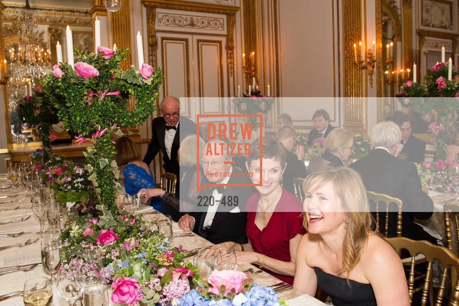 Denise Littlefield Sobel, Maria Santangelo, The Salon Doré from the Hôtel de La Trémoille Private Dinner, US. The Battery, April 1st, 2014,Drew Altizer, Drew Altizer Photography, full-service agency, private events, San Francisco photographer, photographer california