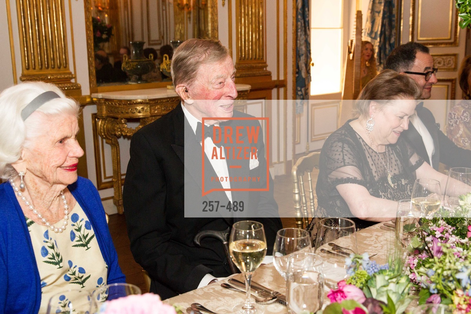 Connie Peabody, Adolphus Andrews, Cynthia Fry, The Salon Doré from the Hôtel de La Trémoille Private Dinner, US. The Battery, April 1st, 2014,Drew Altizer, Drew Altizer Photography, full-service agency, private events, San Francisco photographer, photographer california