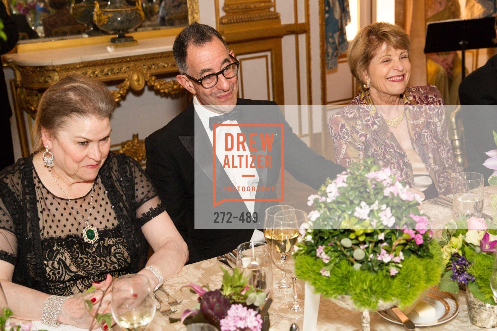 Cynthia Gunn, Colin Bailey, Dagmar Dolby, The Salon Doré from the Hôtel de La Trémoille Private Dinner, US. The Battery, April 1st, 2014