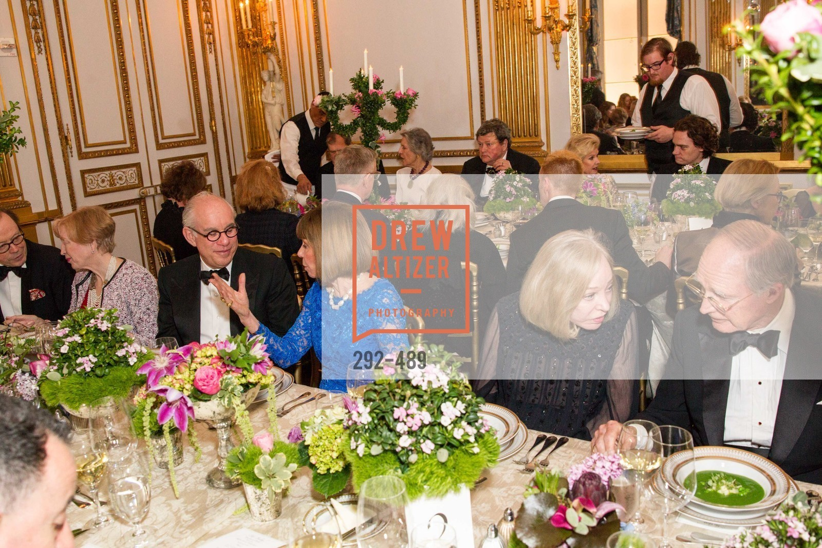Andrew Skurman, Beatrice Bowles, Gretchen Kimball, Richard Goss, The Salon Doré from the Hôtel de La Trémoille Private Dinner, US. The Battery, April 1st, 2014,Drew Altizer, Drew Altizer Photography, full-service agency, private events, San Francisco photographer, photographer california