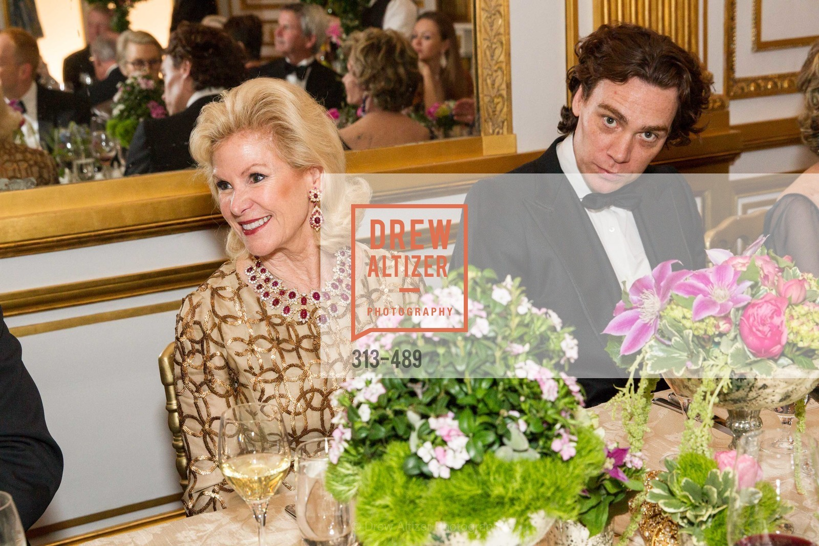 Dede Wilsey, Jay Fielden, The Salon Doré from the Hôtel de La Trémoille Private Dinner, US. The Battery, April 1st, 2014,Drew Altizer, Drew Altizer Photography, full-service agency, private events, San Francisco photographer, photographer california