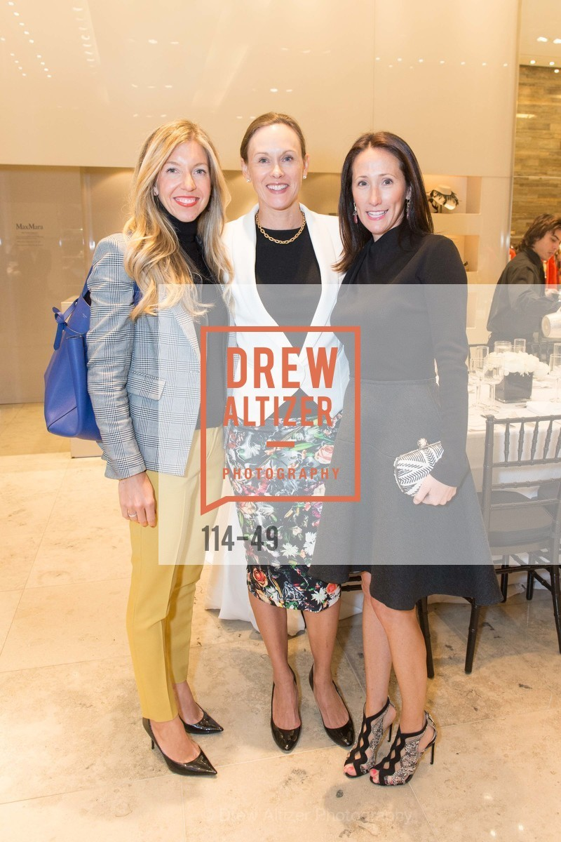 Jane Gruber, Karen Flynn, Kathryn Freeman, Luncheon Hosted by Max Mara, Max Mara. 175 Post St, San Francisco, CA 94108, April 21st, 2015,Drew Altizer, Drew Altizer Photography, full-service agency, private events, San Francisco photographer, photographer california