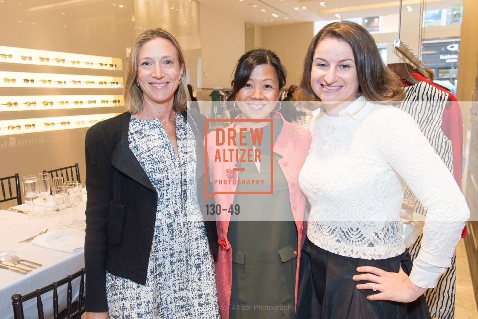 Stacey Silver, Wendy Fraser, Jocelyn Corbett, Luncheon Hosted by Max Mara, Max Mara. 175 Post St, San Francisco, CA 94108, April 21st, 2015,Drew Altizer, Drew Altizer Photography, full-service agency, private events, San Francisco photographer, photographer california