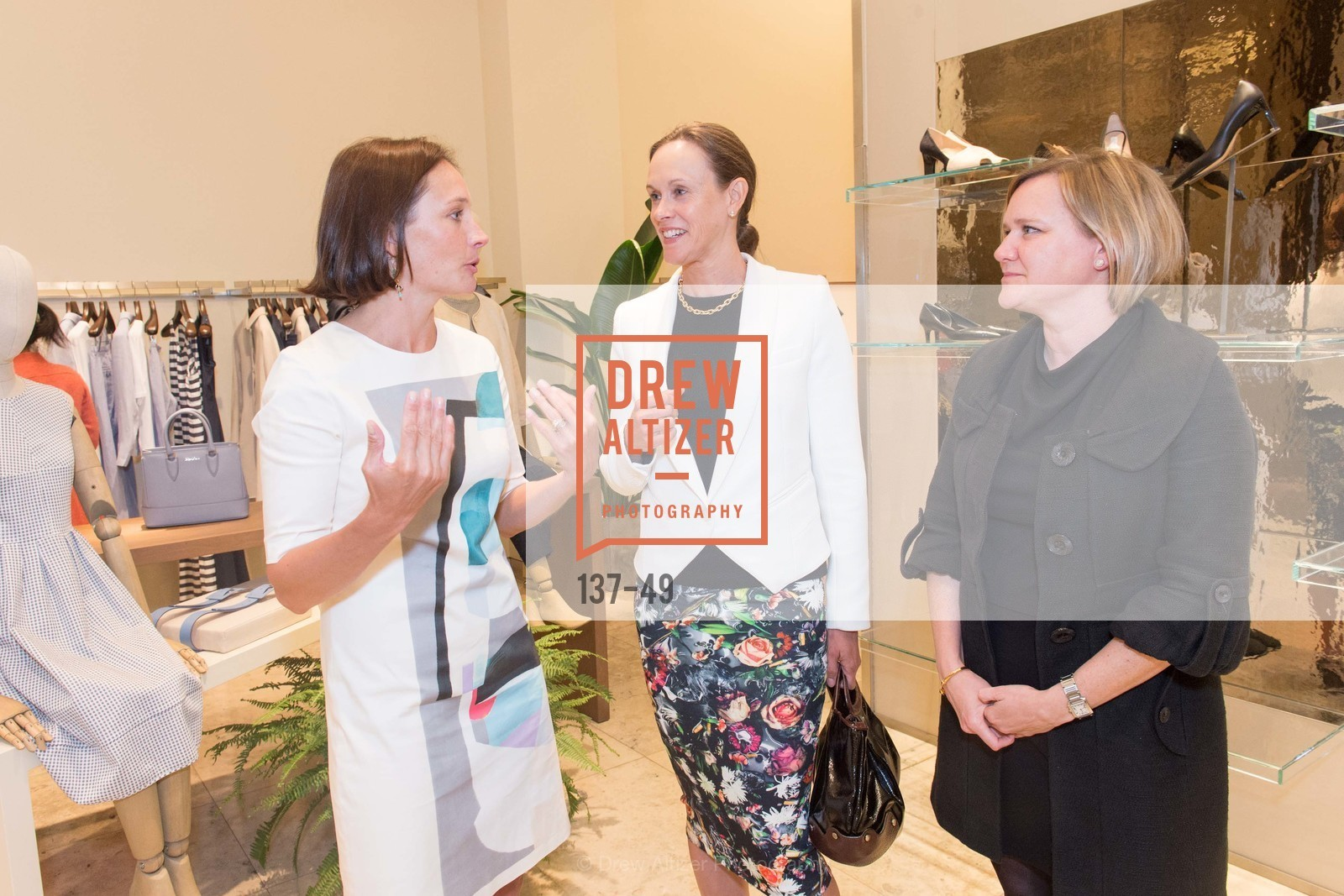 Betsy McDermott, Karen Flynn, Brandy Vause, Luncheon Hosted by Max Mara, Max Mara. 175 Post St, San Francisco, CA 94108, April 21st, 2015,Drew Altizer, Drew Altizer Photography, full-service event agency, private events, San Francisco photographer, photographer California