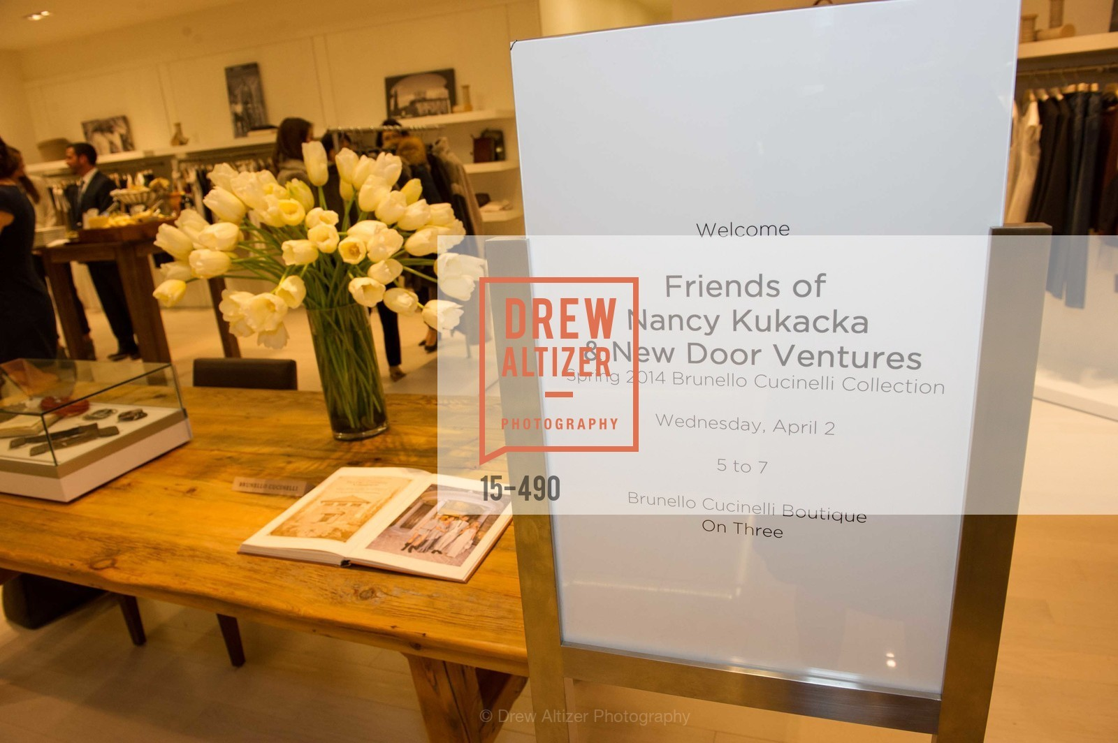 Atmosphere, Nancy Kukacka Hosts Brunello Cucinelli at SAKS FIFTH AVENUE Benefitting New Door Ventures, US. The Battery, April 2nd, 2014,Drew Altizer, Drew Altizer Photography, full-service event agency, private events, San Francisco photographer, photographer California