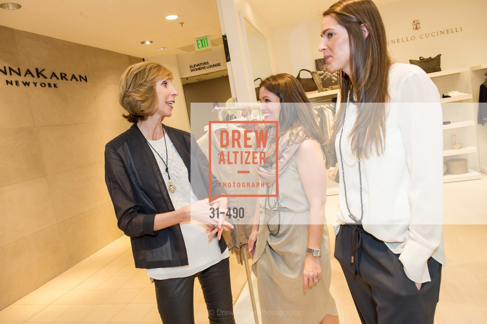 Nancy Kukacka, Alicia Sabella, Samantha Wood, Nancy Kukacka Hosts Brunello Cucinelli at SAKS FIFTH AVENUE Benefitting New Door Ventures, US. The Battery, April 2nd, 2014,Drew Altizer, Drew Altizer Photography, full-service agency, private events, San Francisco photographer, photographer california