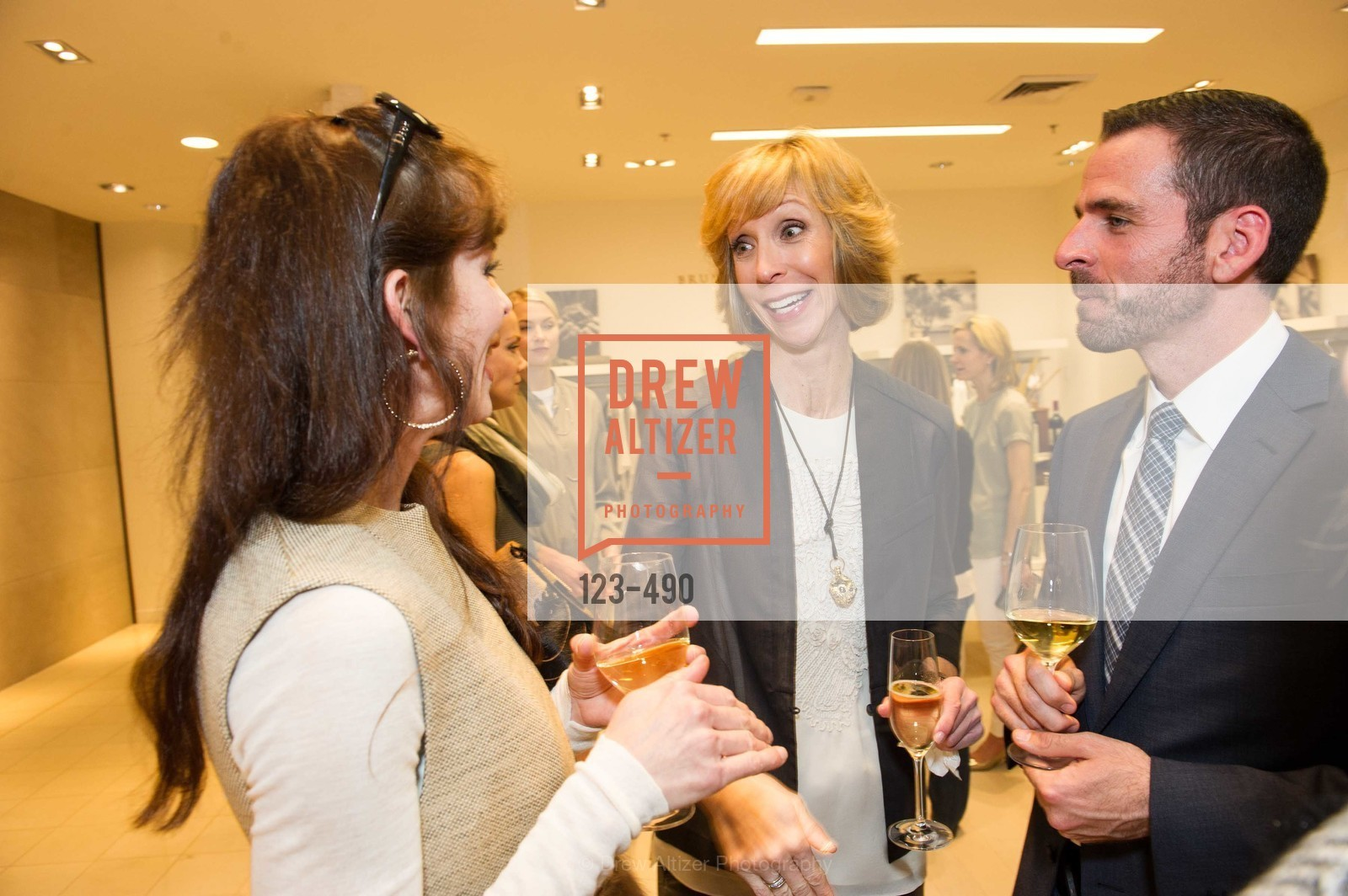 Nancy Kukacka, Ryan Williams, Nancy Kukacka Hosts Brunello Cucinelli at SAKS FIFTH AVENUE Benefitting New Door Ventures, US. The Battery, April 2nd, 2014,Drew Altizer, Drew Altizer Photography, full-service agency, private events, San Francisco photographer, photographer california