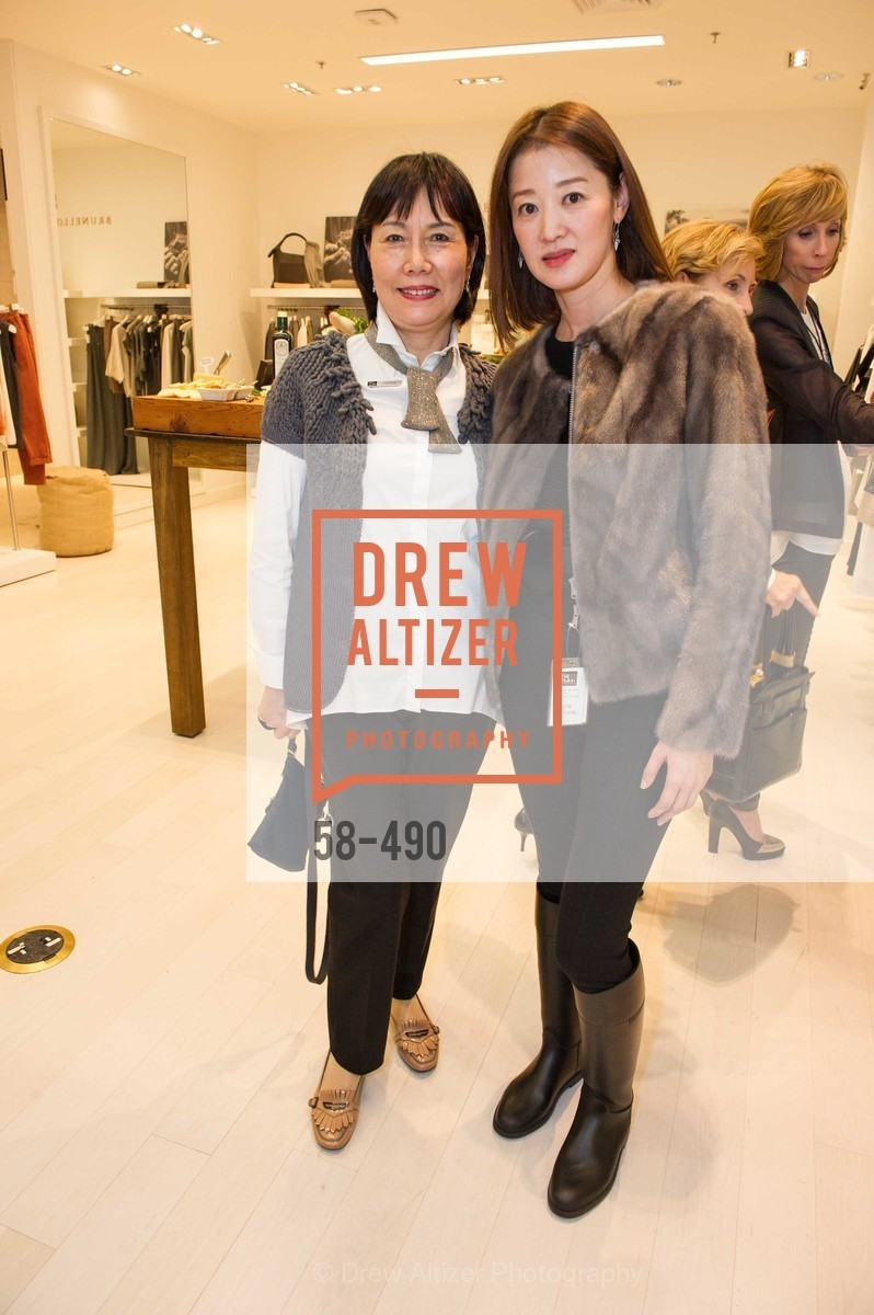 Grace Hsiung, Tiffany Wang, Nancy Kukacka Hosts Brunello Cucinelli at SAKS FIFTH AVENUE Benefitting New Door Ventures, US. The Battery, April 2nd, 2014,Drew Altizer, Drew Altizer Photography, full-service agency, private events, San Francisco photographer, photographer california