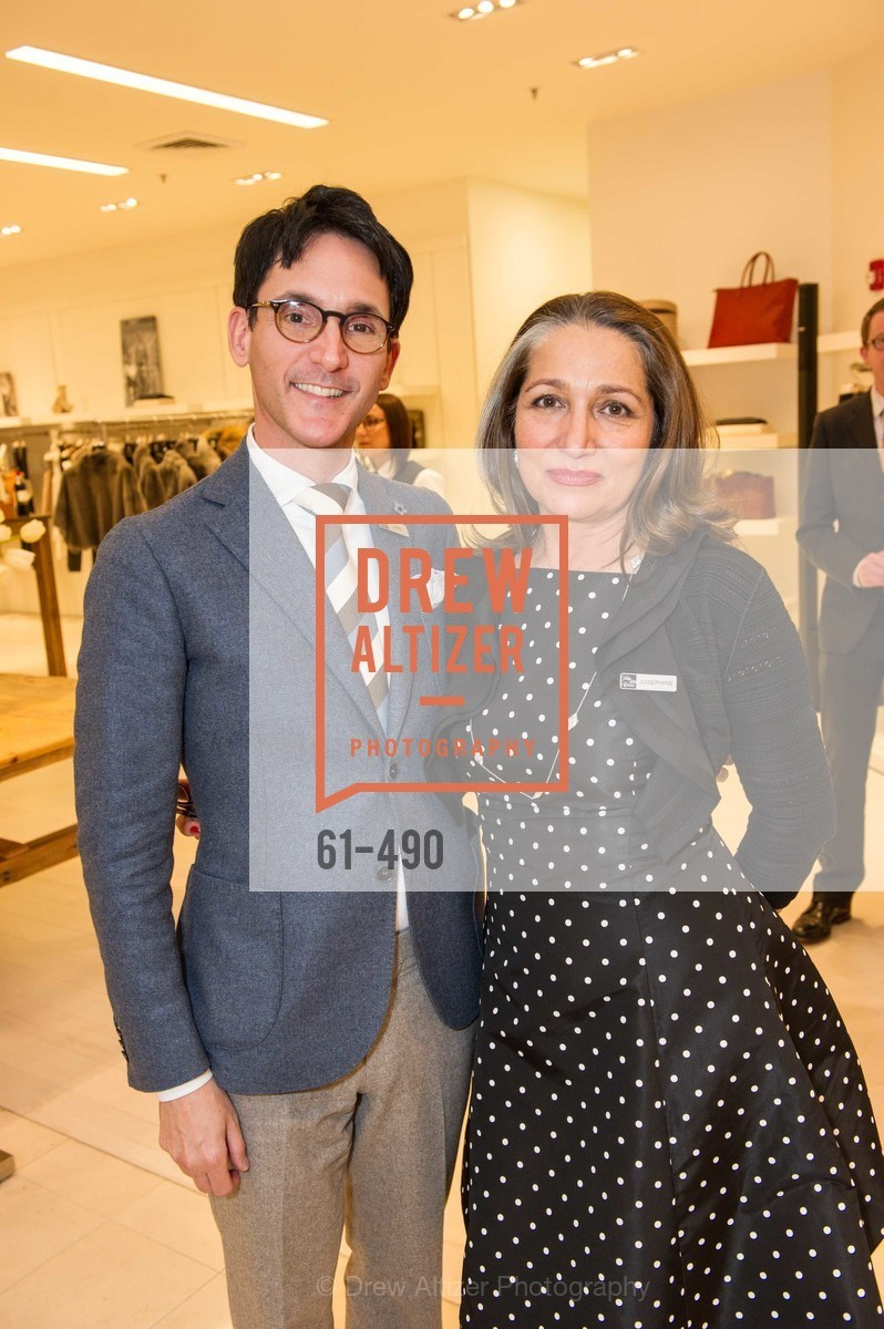 James Krohn, Josephine Kathan, Nancy Kukacka Hosts Brunello Cucinelli at SAKS FIFTH AVENUE Benefitting New Door Ventures, US. The Battery, April 2nd, 2014,Drew Altizer, Drew Altizer Photography, full-service agency, private events, San Francisco photographer, photographer california