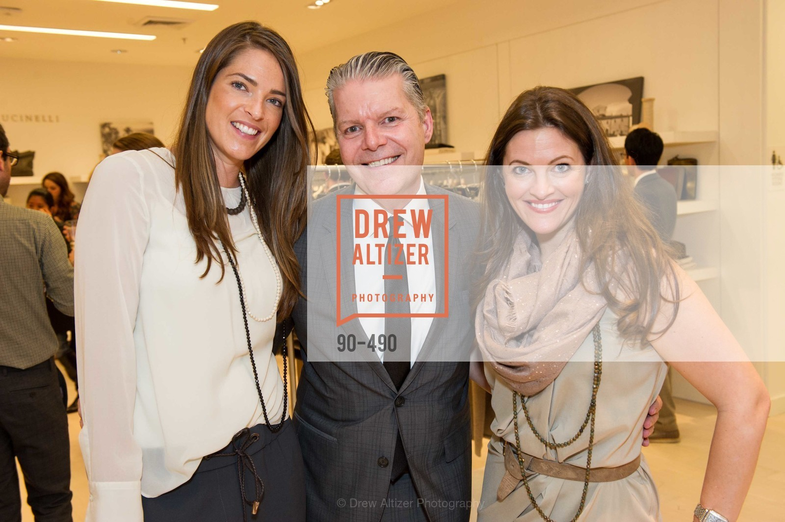 Samantha Wood, Alicia Sabella, Nancy Kukacka Hosts Brunello Cucinelli at SAKS FIFTH AVENUE Benefitting New Door Ventures, US. The Battery, April 2nd, 2014