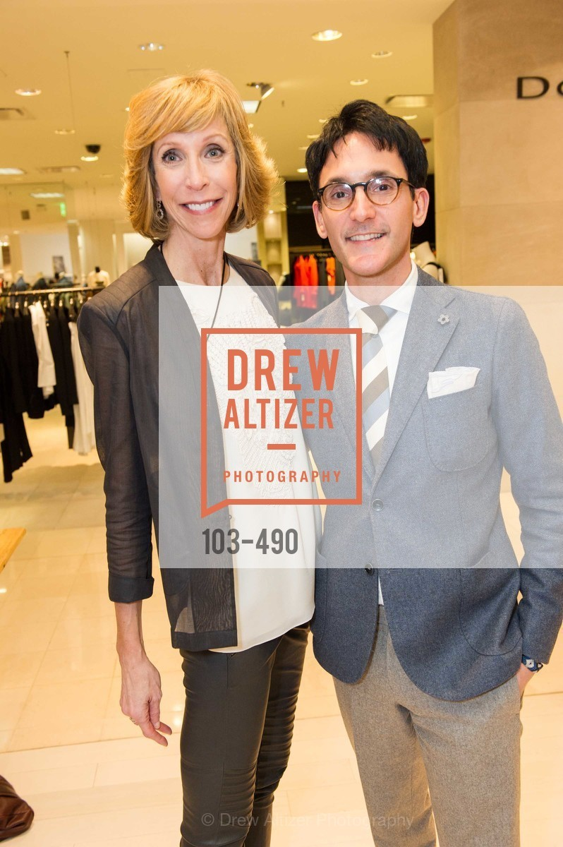 Nancy Kukacka, James Krohn, Nancy Kukacka Hosts Brunello Cucinelli at SAKS FIFTH AVENUE Benefitting New Door Ventures, US. The Battery, April 2nd, 2014,Drew Altizer, Drew Altizer Photography, full-service agency, private events, San Francisco photographer, photographer california