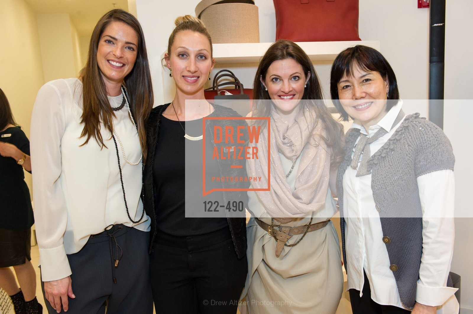 Samantha Wood, Quincey Firth, Alicia Sabella, Grace Hsiung, Nancy Kukacka Hosts Brunello Cucinelli at SAKS FIFTH AVENUE Benefitting New Door Ventures, US. The Battery, April 2nd, 2014,Drew Altizer, Drew Altizer Photography, full-service event agency, private events, San Francisco photographer, photographer California