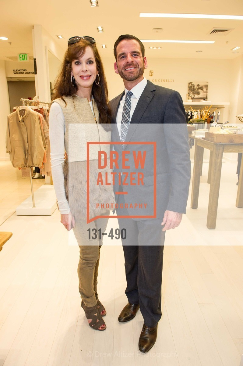 Stephanie Ejabat, Ryan Williams, Nancy Kukacka Hosts Brunello Cucinelli at SAKS FIFTH AVENUE Benefitting New Door Ventures, US. The Battery, April 2nd, 2014,Drew Altizer, Drew Altizer Photography, full-service agency, private events, San Francisco photographer, photographer california