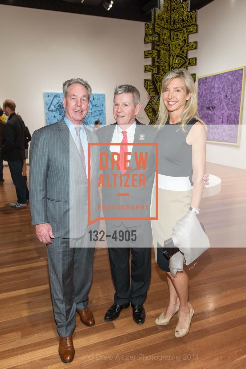 Tom Weisel, Richard Benefield, Janet Barnes, Photo #132-4905