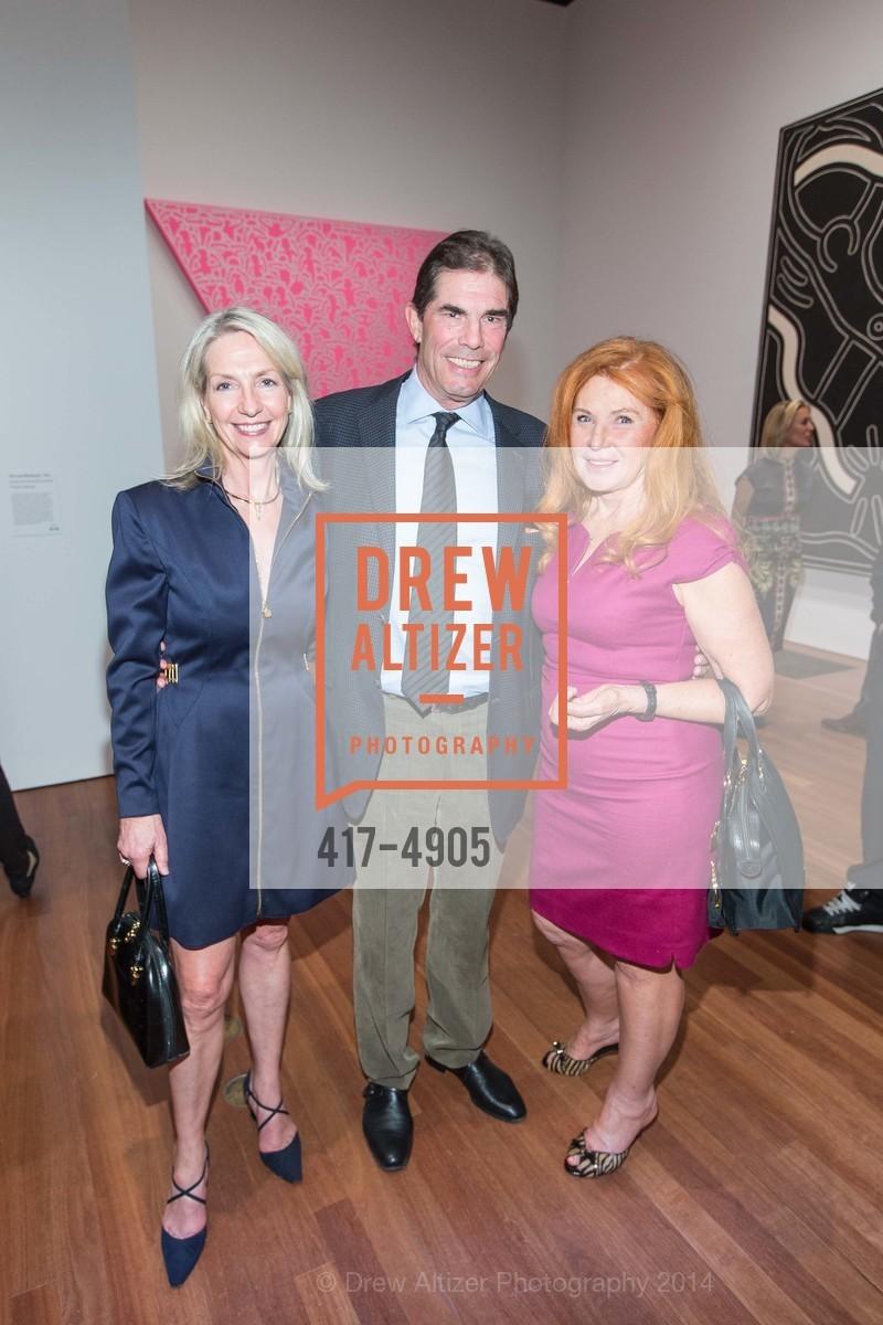 Kathy Best, John Rosekrans, Sandy Schlumberger, Photo #417-4905