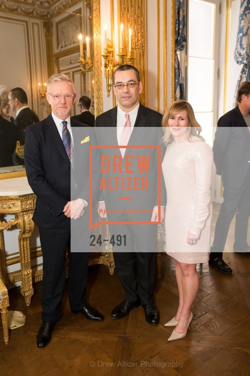 Martin Chapman, Xavier Bonnet, Maria Santangelo, The Salon Doré from the Hôtel de La Trémoille Donor Opening, US. Legion of Honor, April 2nd, 2014,Drew Altizer, Drew Altizer Photography, full-service agency, private events, San Francisco photographer, photographer california