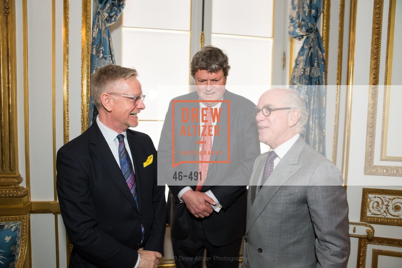 Martin Chapman, John Gunn, Andrew Skurman, The Salon Doré from the Hôtel de La Trémoille Donor Opening, US. Legion of Honor, April 2nd, 2014,Drew Altizer, Drew Altizer Photography, full-service agency, private events, San Francisco photographer, photographer california