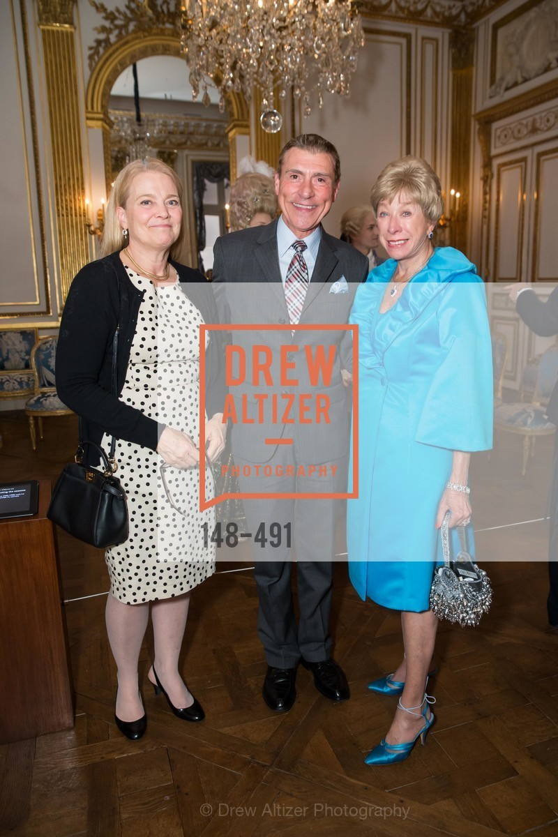 Ruth Timbrell, Robert Beadle, Maria Pitcairn, The Salon Doré from the Hôtel de La Trémoille Donor Opening, US. Legion of Honor, April 2nd, 2014,Drew Altizer, Drew Altizer Photography, full-service agency, private events, San Francisco photographer, photographer california