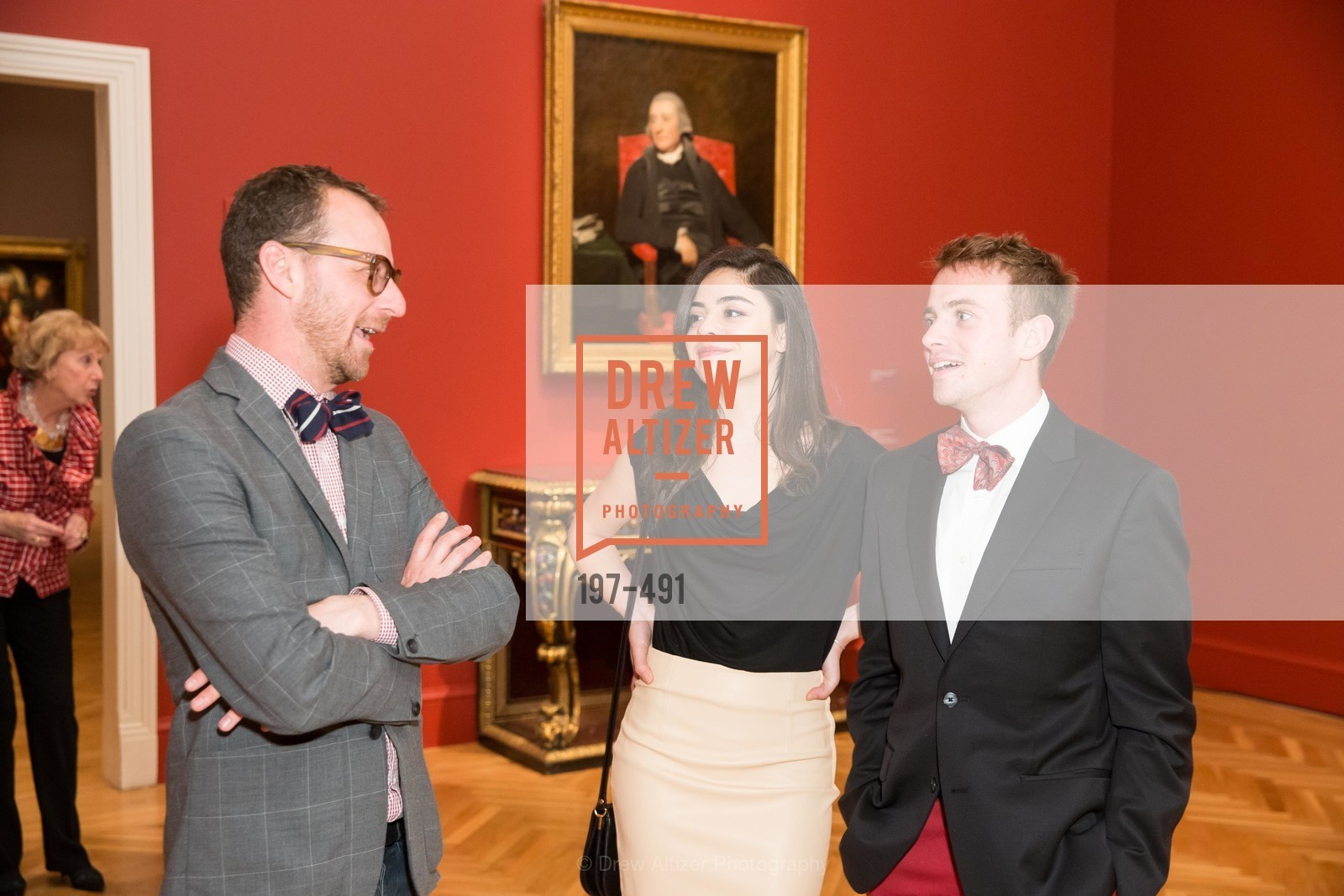 Emerson Bowyer, Ece Ciper, Ian Cox, The Salon Doré from the Hôtel de La Trémoille Donor Opening, US. Legion of Honor, April 2nd, 2014,Drew Altizer, Drew Altizer Photography, full-service agency, private events, San Francisco photographer, photographer california