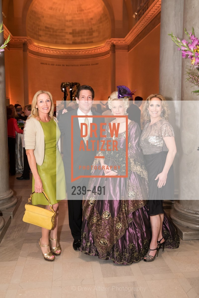Rosemary Baker, Bill Yelle, Heidi Munzinger, Lorre Erlick, The Salon Doré from the Hôtel de La Trémoille Donor Opening, US. Legion of Honor, April 2nd, 2014,Drew Altizer, Drew Altizer Photography, full-service agency, private events, San Francisco photographer, photographer california