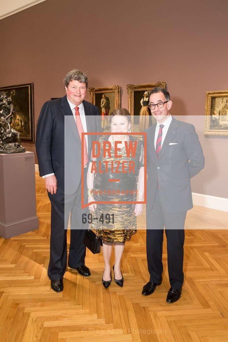 John Gunn, Cynthia Gunn, Colin Bailey, The Salon Doré from the Hôtel de La Trémoille Donor Opening, US. Legion of Honor, April 2nd, 2014,Drew Altizer, Drew Altizer Photography, full-service agency, private events, San Francisco photographer, photographer california