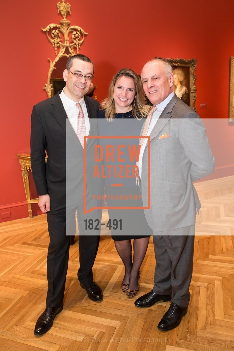 Xavier Bonnet, Krista Brugnara, Robert Domergue, The Salon Doré from the Hôtel de La Trémoille Donor Opening, US. Legion of Honor, April 2nd, 2014,Drew Altizer, Drew Altizer Photography, full-service agency, private events, San Francisco photographer, photographer california