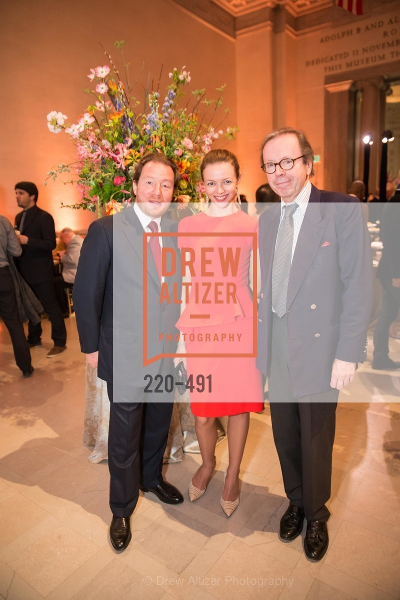 Benjamin Steinitz, Marina Steinitz, Alexander Pradere, The Salon Doré from the Hôtel de La Trémoille Donor Opening, US. Legion of Honor, April 2nd, 2014,Drew Altizer, Drew Altizer Photography, full-service agency, private events, San Francisco photographer, photographer california