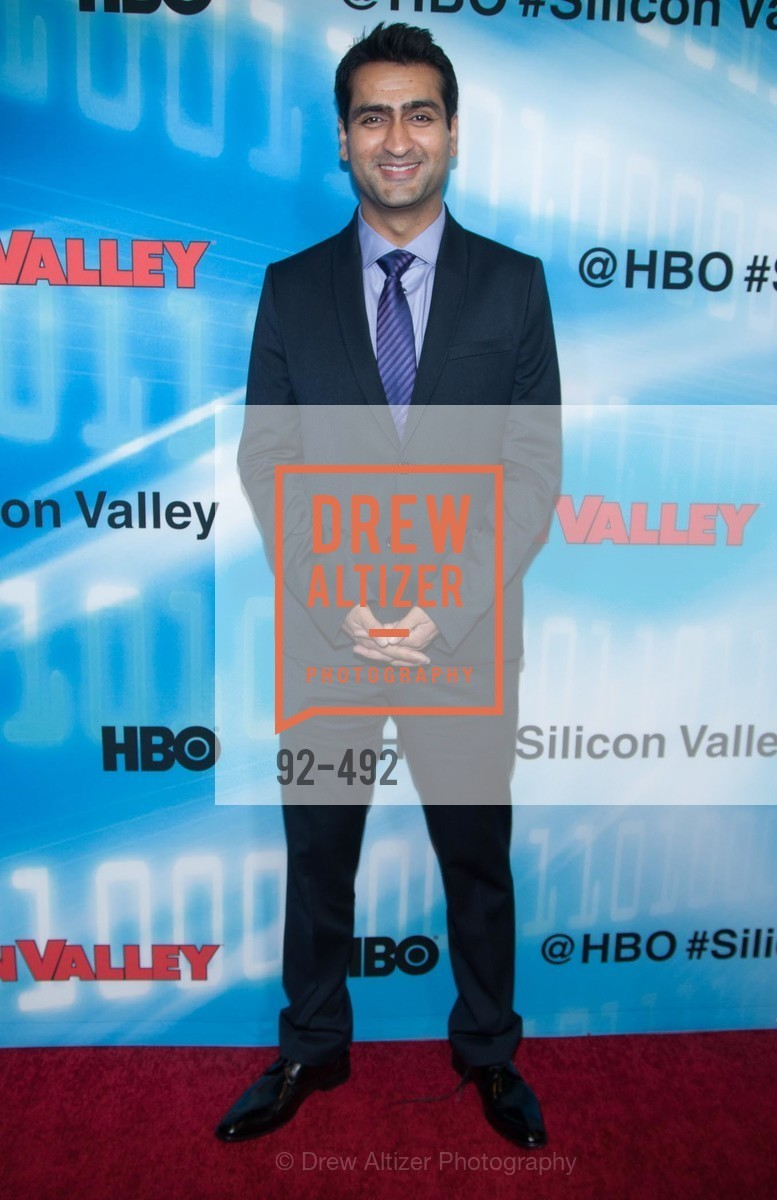 Kumail Nanjiani, HBO Original Series 'Silicon Valley' Bay Area Premiere, US. US, April 2nd, 2014,Drew Altizer, Drew Altizer Photography, full-service event agency, private events, San Francisco photographer, photographer California