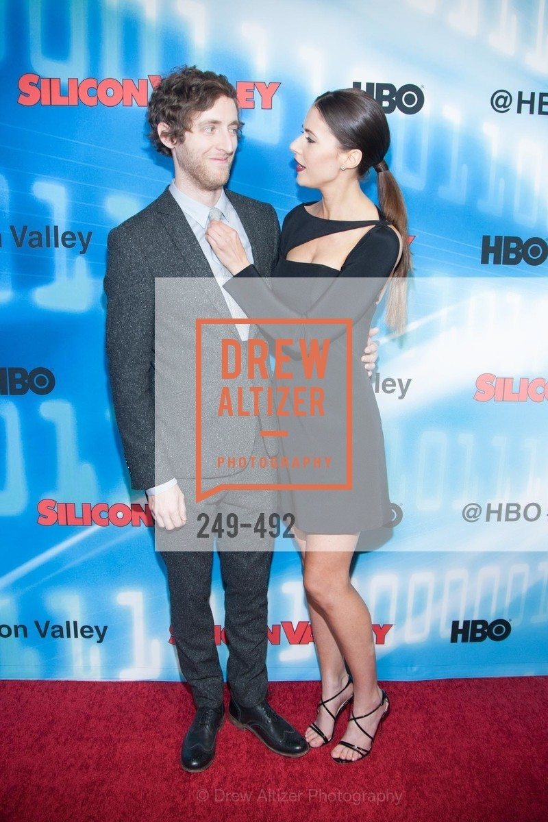 Thomas Middleditch, Amanda Crew, HBO Original Series 'Silicon Valley' Bay Area Premiere, US. US, April 2nd, 2014,Drew Altizer, Drew Altizer Photography, full-service agency, private events, San Francisco photographer, photographer california