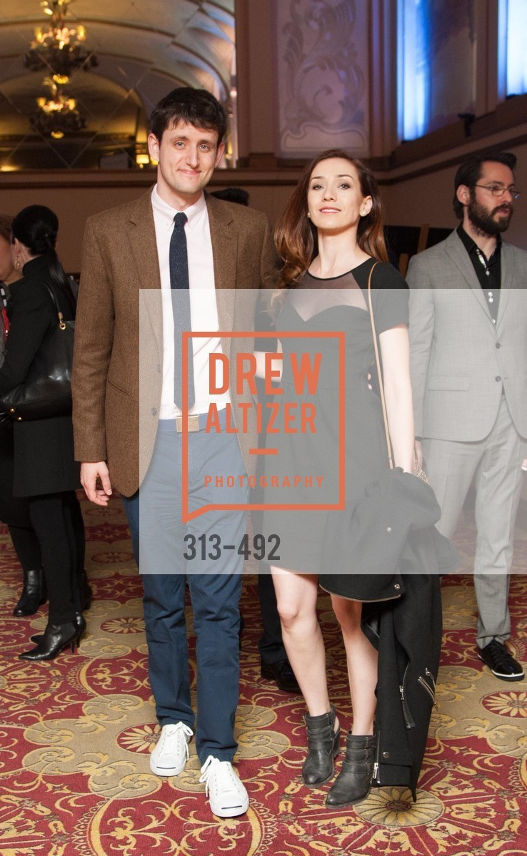 Zach Woods, Jocelyn DeBoer, HBO Original Series 'Silicon Valley' Bay Area Premiere, US. US, April 2nd, 2014,Drew Altizer, Drew Altizer Photography, full-service agency, private events, San Francisco photographer, photographer california
