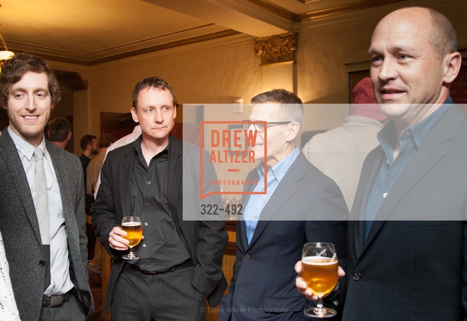 Thomas Middleditch, Alec Berg, Michael Lombardo, Mike Judge, HBO Original Series 'Silicon Valley' Bay Area Premiere, US. US, April 2nd, 2014,Drew Altizer, Drew Altizer Photography, full-service agency, private events, San Francisco photographer, photographer california