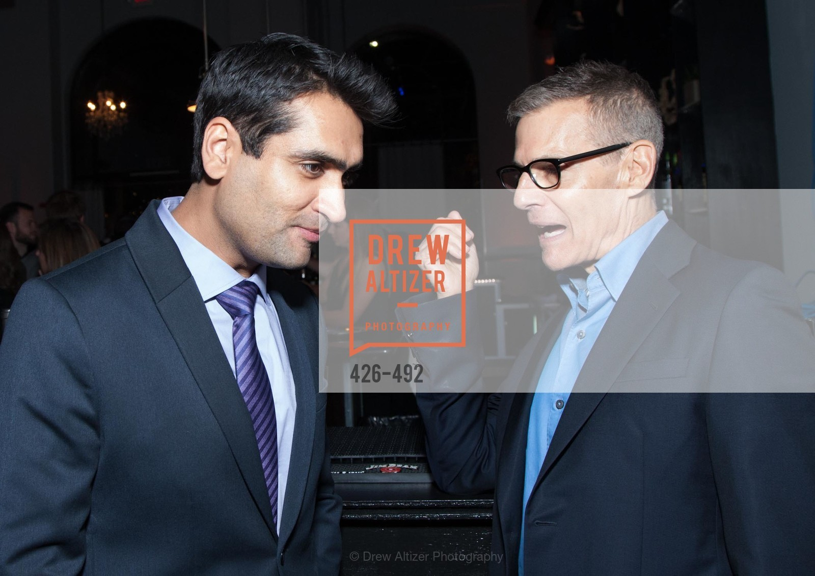 Kumail Nanjiani, Michael Lombardo, HBO Original Series 'Silicon Valley' Bay Area Premiere, US. US, April 2nd, 2014,Drew Altizer, Drew Altizer Photography, full-service event agency, private events, San Francisco photographer, photographer California