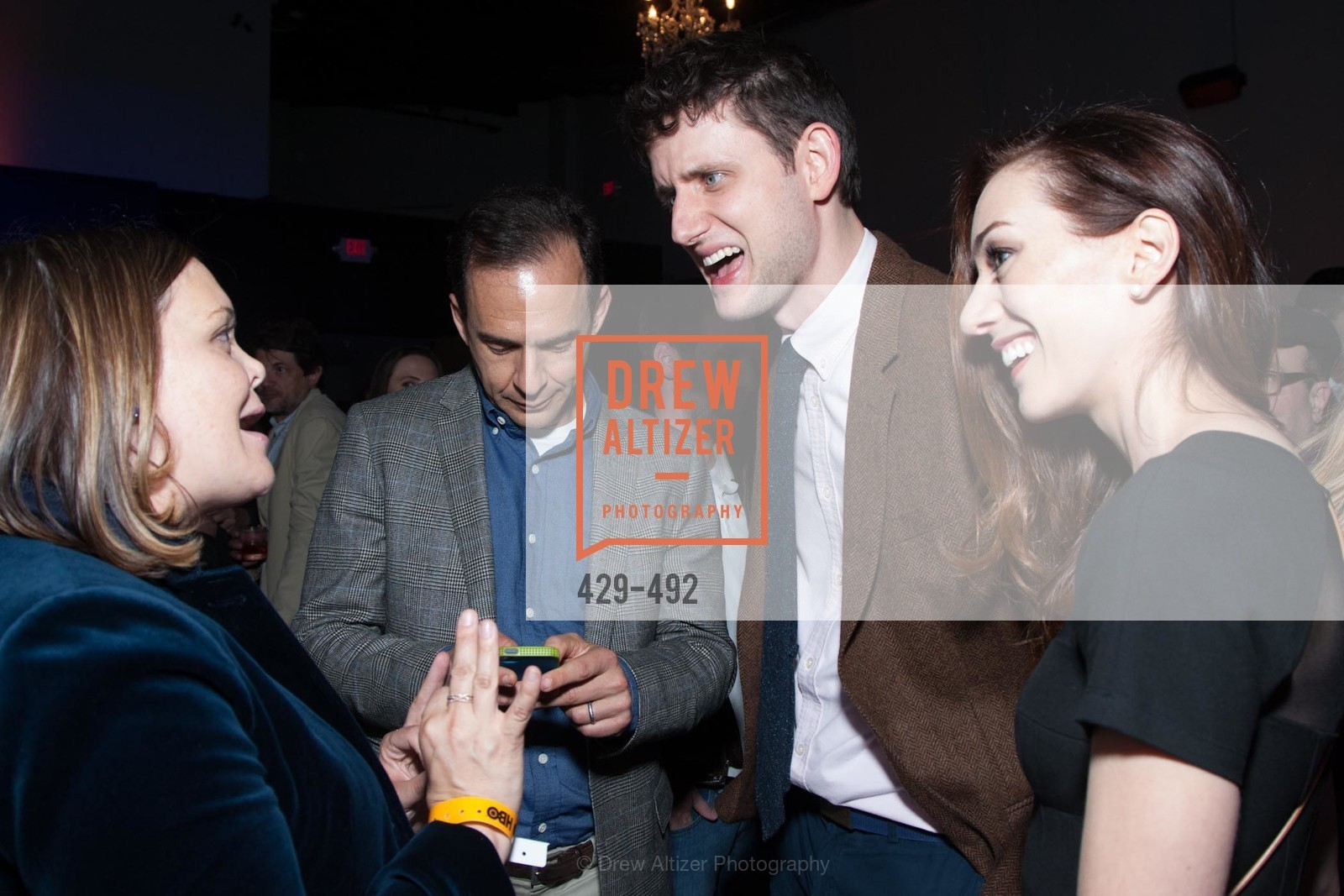 Zach Woods, HBO Original Series 'Silicon Valley' Bay Area Premiere, US. US, April 2nd, 2014,Drew Altizer, Drew Altizer Photography, full-service agency, private events, San Francisco photographer, photographer california