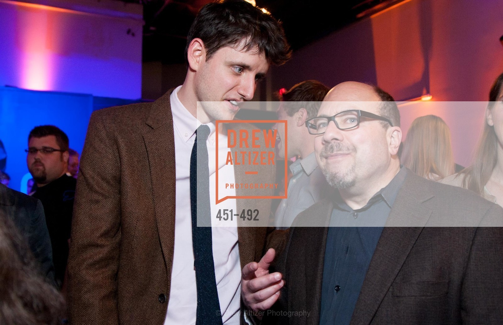 Zach Woods, Craig Newmark, HBO Original Series 'Silicon Valley' Bay Area Premiere, US. US, April 2nd, 2014,Drew Altizer, Drew Altizer Photography, full-service agency, private events, San Francisco photographer, photographer california